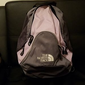 North face womans small pandora backpack